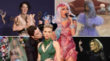 Defining showbiz pictures of the decade: From Oscars speeches to star-studded celebrity weddings