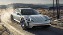 Porsche developing four-motor electric powertrain for an SUV