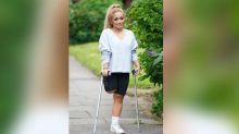 Nurse loses leg after she ignored pain to care for COVID patients