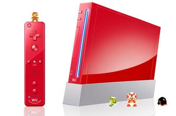 Nintendo Wii turns red with glee for Super Mario's 25th anniversarii