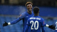 Abraham's hat-trick takes heat off Lampard as Chelsea advance in FA Cup