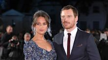 Michael Fassbender and Alicia Vikander 'get married'