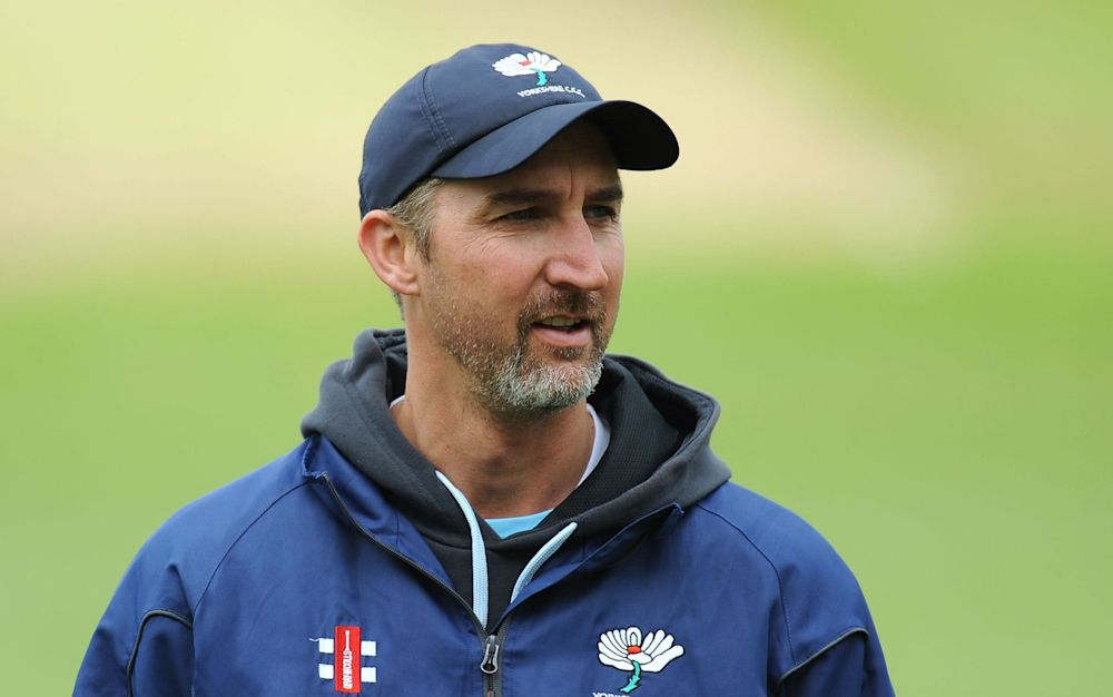 Jason Gillespie is filling in for Allan Donald, who is still awaiting a visa to work in England - PA