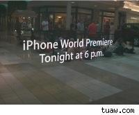 Knoxville is waiting for iPhones