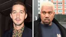 Shia LaBeouf Claims Kanye West Stole His Clothes for a Pop-Up Shop