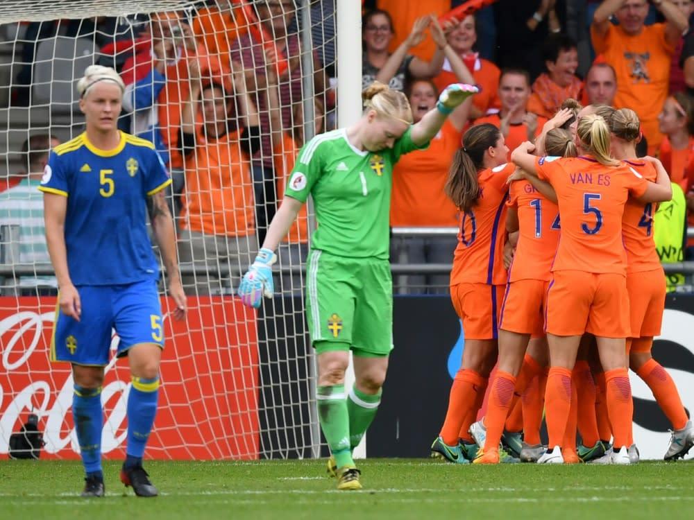 Schweden Gegen Niederlande