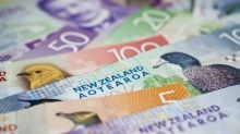New Zealand dollar rallies into resistance on Wednesday