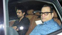 Mouni Roy, Iulia Vantur, Aayush Sharma attend the special screening of Tiger Zinda Hai