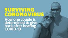 Coronavirus survivor is the first to donate plasma in a clinical trial at Thomas Jefferson University Hospital