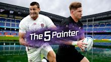 The Five Pointer: England's New Zealand showdown, NFL back in London, Hamilton's Championship push