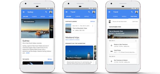Get your hotel rooms and flights right from Google search