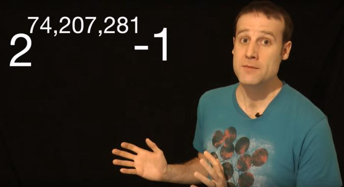 The world's largest prime number has 22 million digits