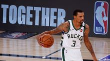 George Hill skips national anthem at NBA restart after initiating player strike