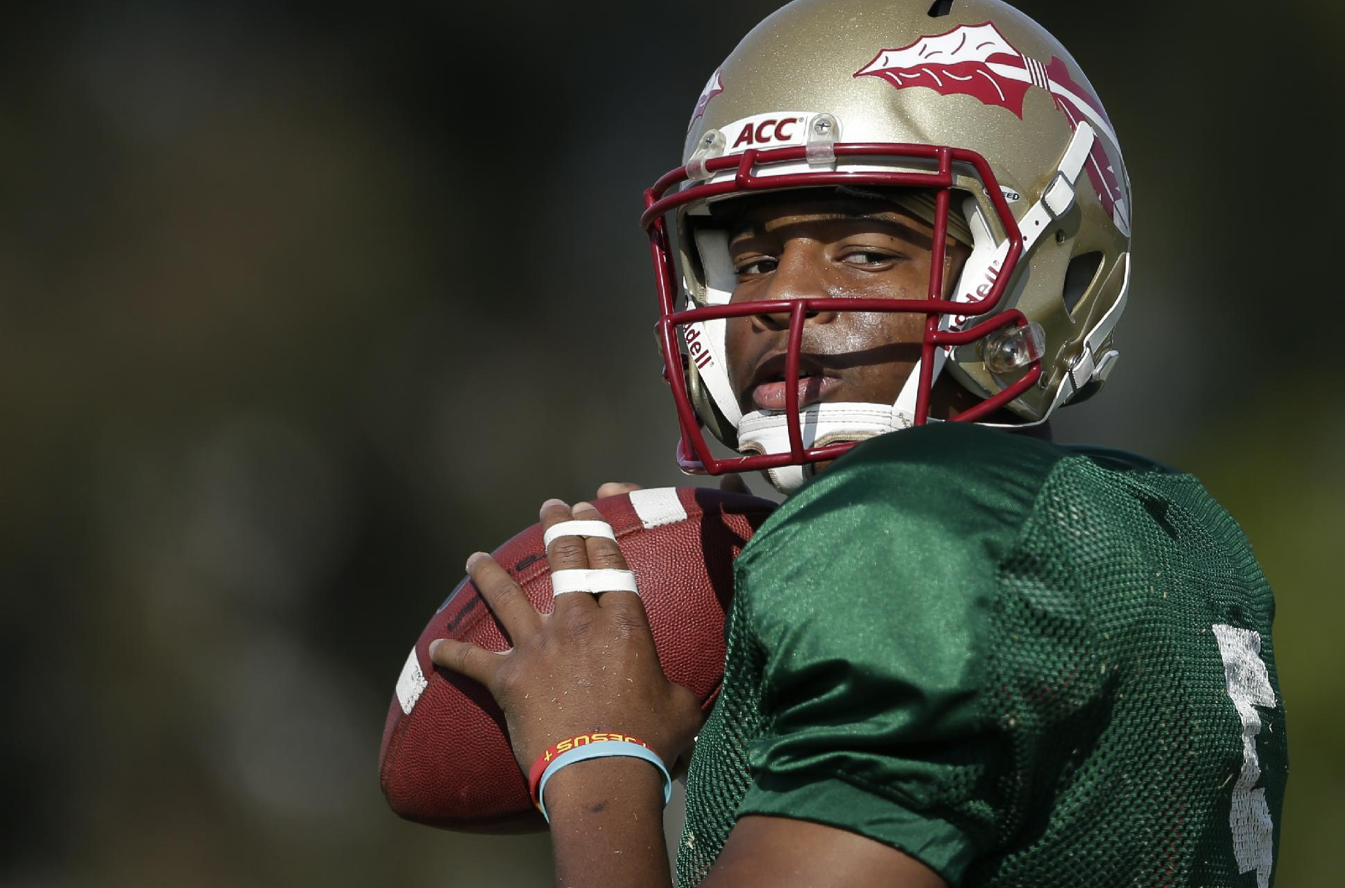 Florida State quarterback Jameis Winston will not play ...