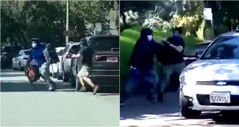 Man Fights Back After Robber Targets His Family's Car in Golden Gate Park in SF