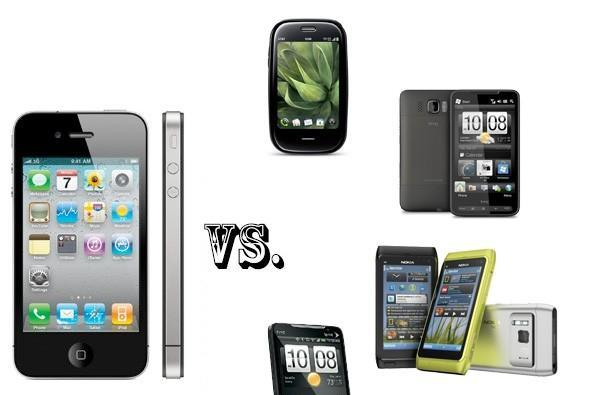 iPhone 4 vs. the smartphone elite: EVO 4G, N8, Pre Plus, and HD2