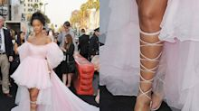 Rihanna's White-Hot Pedicure Steals the Red Carpet