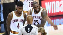 LeBron James said 'I don't believe I've played for a super-team,' which is funny