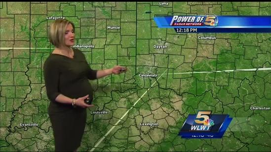 Sunny Today Storms Tomorrow