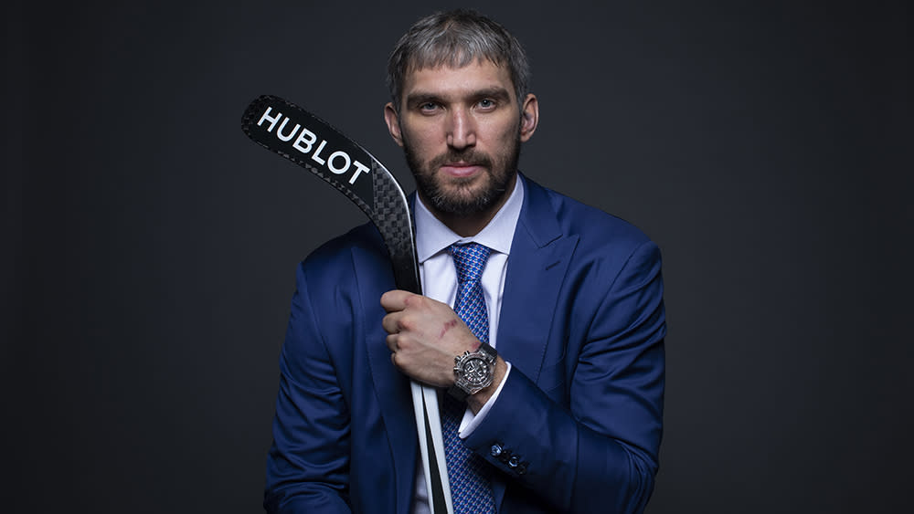 How Star Hockey Player Alexander Ovechkin Became Hublot's First On-Ice Ambassador - Yahoo Lifestyle