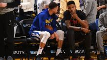 Kent Bazemore seemingly 'can't stop smiling' about Warriors return