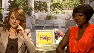 Emma Stone And Viola Davis Give A 'Help'-ing Hand