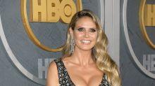 Sexy Emmy-Look: Heidi Klum glänzender Red-Carpet-Auftritt