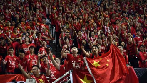 Guangzhou Evergrande é punido por cartazes discriminatórios