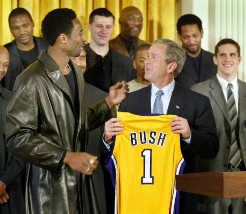 Bryant also visited the White House multiple times under President George W. Bush. (AP)