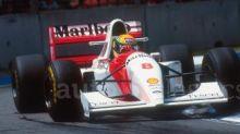 Ayrton Senna's Lamborghini-powered McLaren