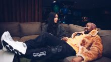 Kim Kardashian and Kanye West talk over ideas during what he calls 'bedtime true-crime story meetings'