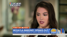 McKayla Maroney says Larry Nassar manipulated her with food