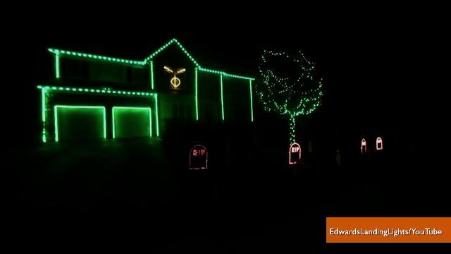 Halloween Light Display Set to 'The Fox' Becomes a Viral Hit