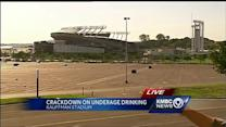 Crews patrol Sports Complex looking for underage drinkers