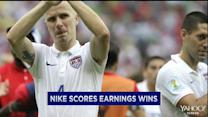 Nike scores; Michaels goes public; DuPont cuts outlook