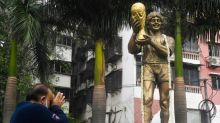 India football stronghold mourns 'Our God' Diego
