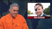 'Utterly shameful': Pete Davidson called out for mocking a congressional candidate who lost an eye in Afghanistan