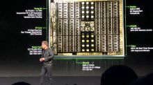 New Nvidia chip extends the company's lead in graphics, artificial intelligence