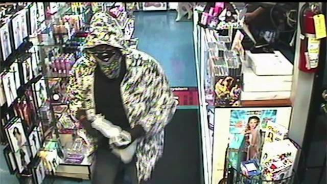 Adult Store Robbery Suspect Nabbed