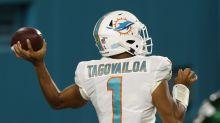 Report: Dolphins naming Tua Tagovailoa as their starting quarterback