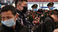 Stocks retreat, oil slides as China struggles with virus