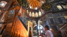 Turkey's Erdogan visits Hagia Sofia after reconversion to mosque