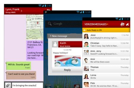 Verizon Messages extends unified SMS and MMS to Android, iOS and the web (video)