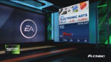 Hitting the sidelines on Electronic Arts