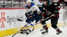 Kuemper sharp in return, Coyotes rally to beat Blues 3-2