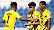 Reyna 'very, very happy' at Dortmund as USA starlet savours playing alongside Sancho and Haaland