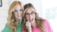These clever reading glasses were invented by 2 sisters in honor of their late mom