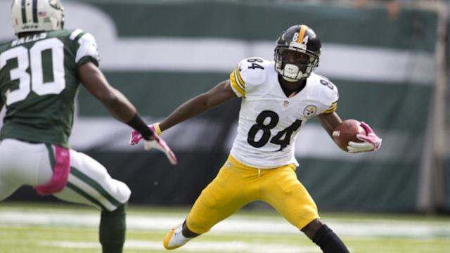 RADIO: Antonio Brown - First Win For The Steelers