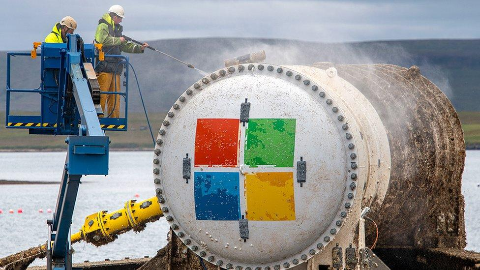 Microsoft's underwater data centre resurfaces after two years