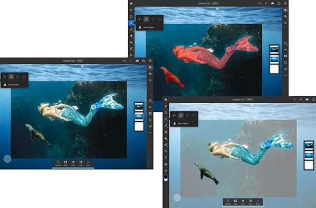 Adobe brings its Select Subject feature to Photoshop on iPad